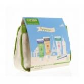Kit BIO per l'igiene e la borsa da toilette viaggio Cattier