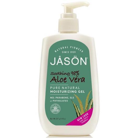 Gel hidratante calmante cara y cuerpo Aloe vera 98% Jason, 227 g