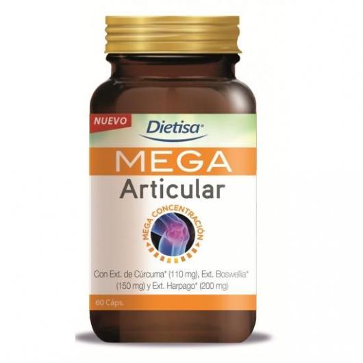 Mega Articular Dietisa, 60 cápsulas