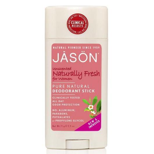 Desodorante stick Naturally fresh para mujer Jason, 71 g