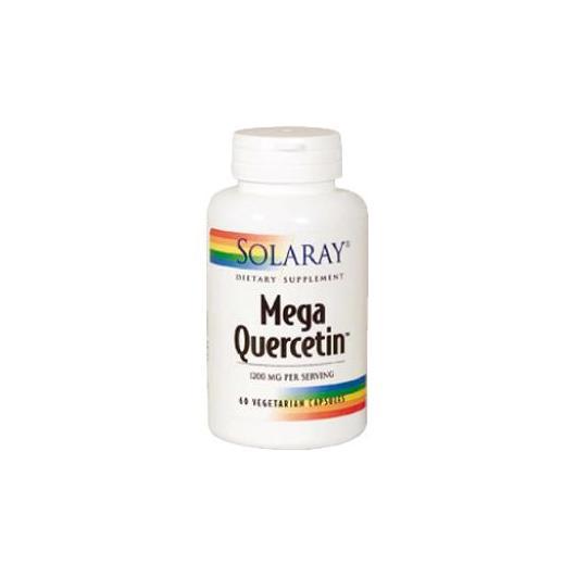 Mega Quercitina 600 mg Solaray, 60 cápsulas