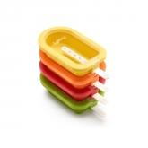 Kit de 4 Moules Pliables pour Glace à Eau Lékué