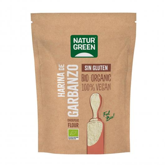 Harina Garbanzo Bio NaturGreen 350 g