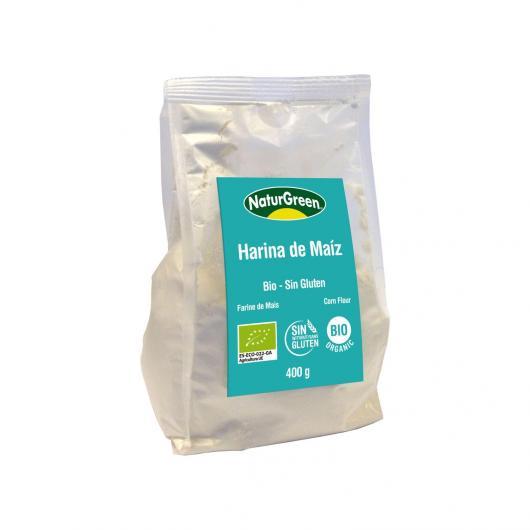 Harina de Maíz Bio NaturGreen  400g