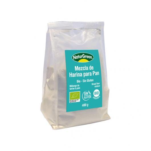 Mezcla Harina para Pan Bio NaturGreen 400g