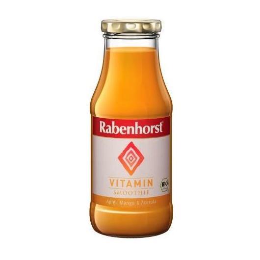Smoothie Vitamin BIO manzana, mango y acerola Rabenhorst, 240 ml