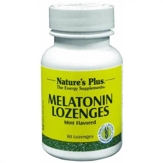 Melatonina 1,5 mg con Vit B6 Nature's Plus, 60 comprimidos fraccionables