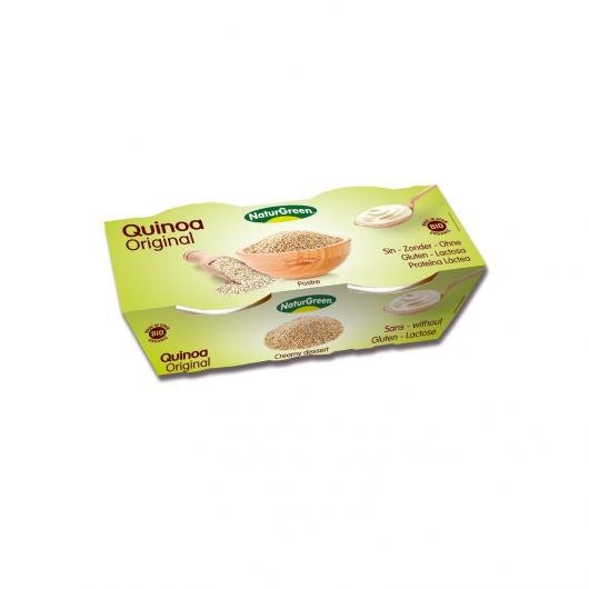 Déssert Quinoa NaturGreen, 2 X 125 g