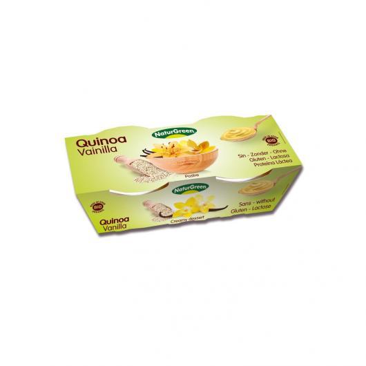 Déssert Quinoa avec Vanille NaturGreen, 2 X 125 g