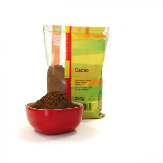 Cacao Puro senza grassi bio Biospirit, 250gr