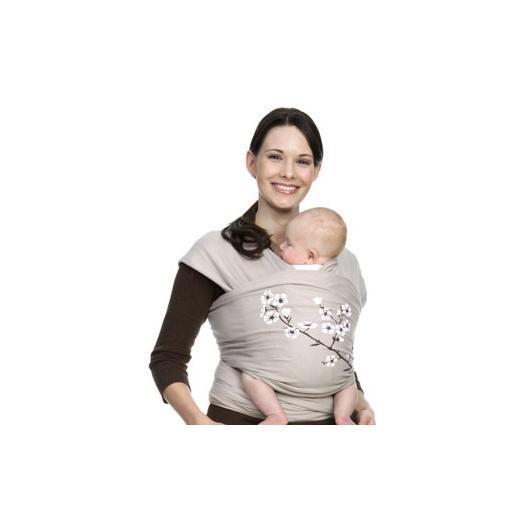 Porte-bébé élastique Moby Wrap