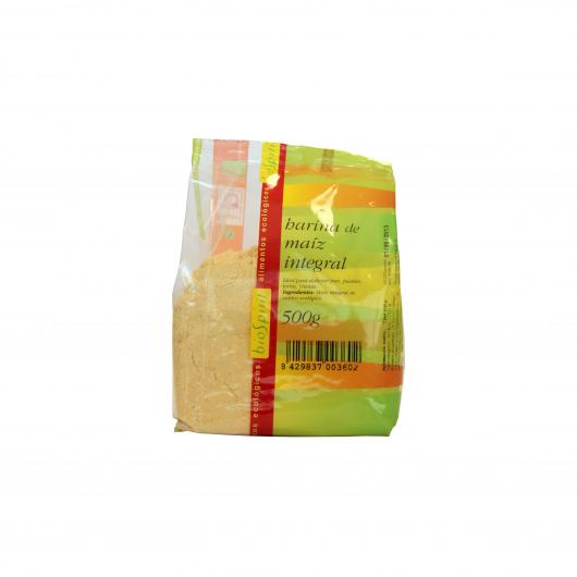 Harina de maíz integral bio Biospirit