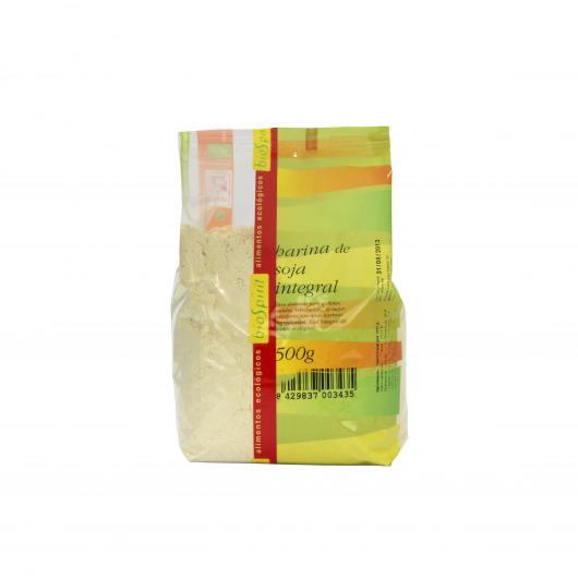 Farina di soia integrale bio Biospirit