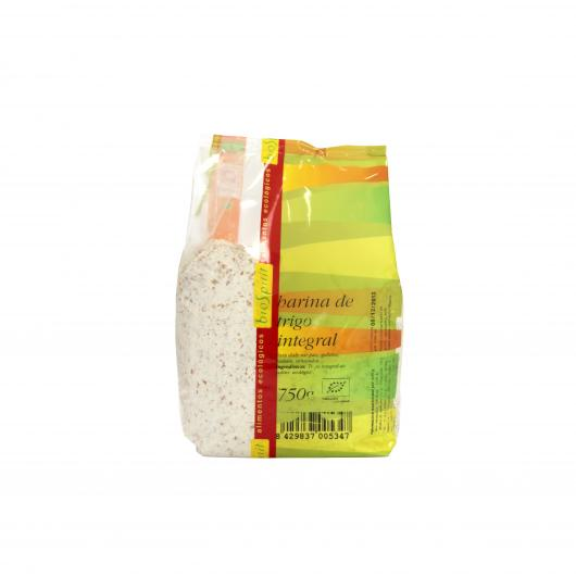 Harina de trigo integral bio Biospirit