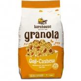 Granola con bayas de Goji y anacardos bio Barnhouse 375 g