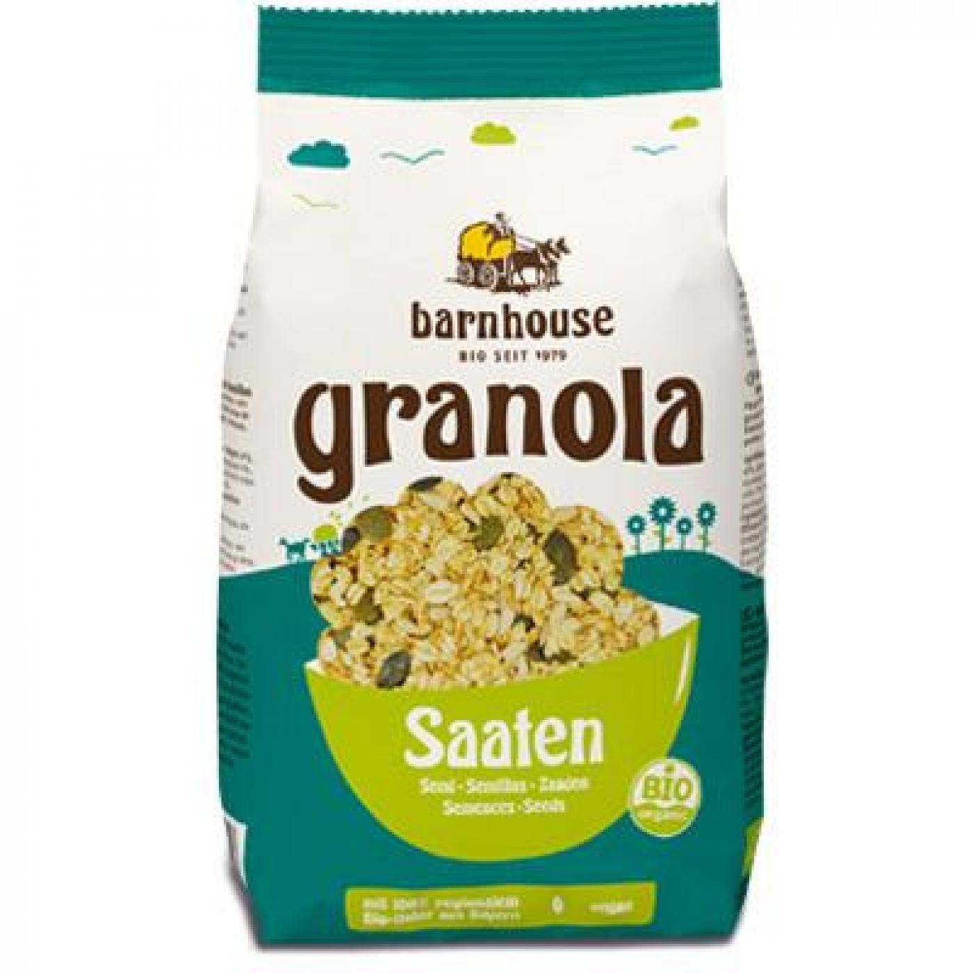 granola con semillas bio barnhouse 375 g por 8 40 en planeta huerto. Black Bedroom Furniture Sets. Home Design Ideas
