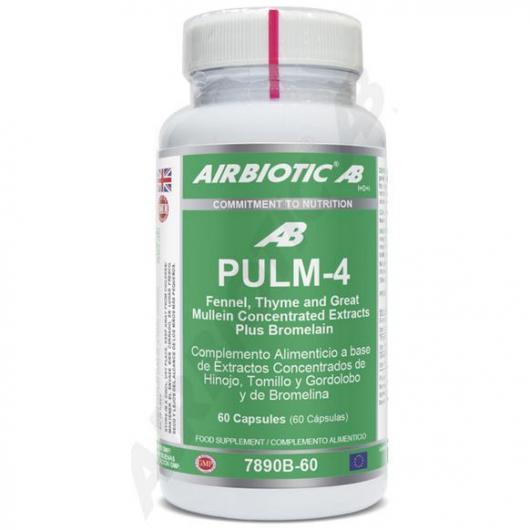 Pulm 4 Airbiotic, 60 cápsulas