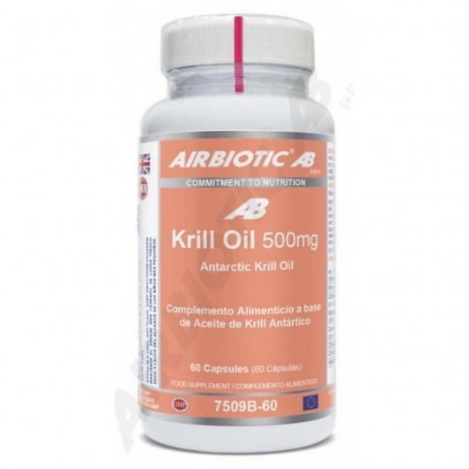 Olio di Krill 500 mg Airbiotic, 60 capsule
