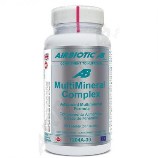 Multimineral complex Airbiotic, 30 tabletas