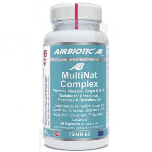 Multinat complex Airbiotic, 60 cápsulas