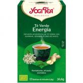 Yogi Tea BIO Té verde Energía, 17 bolsitas