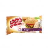 Pan de hamburguesa sin gluten Proceli, 2 x 90 g