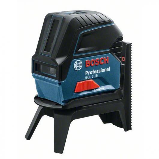 Livello Laser Professionale Bosch GCL 2-15 + RM1 + Supporti per soffitti