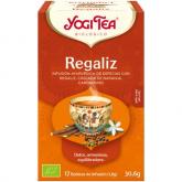 Yogi Tea BIO Regaliz, 17 bolsitas