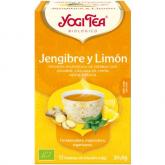 Yogi Tea BIO Jengibre y Limón, 17 bolsitas