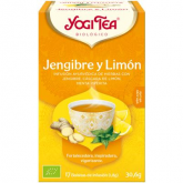 Yogi Tè Bio di zenzero e limone, 17 bustine