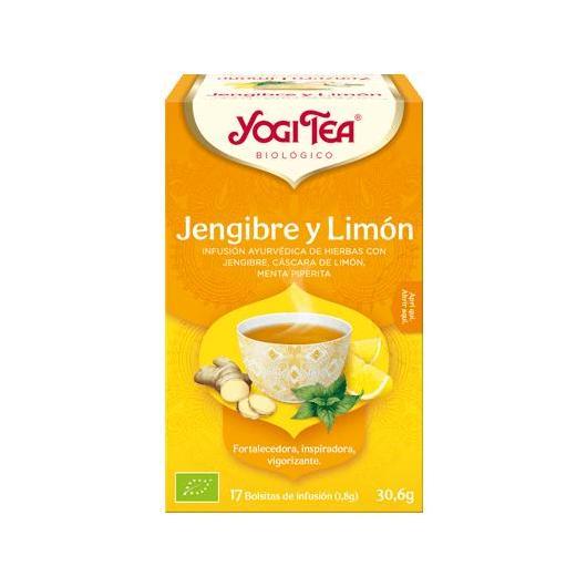 Yogi Tea BIO Gingembre et Citron, 17 sachets