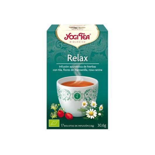 Yogi Tea BIO Relax, 17 bolsitas