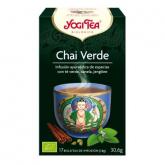 Yogi Tè BIO Chai verde, 17 bustine
