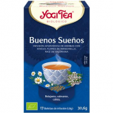 Yogi Tea BIO Buenas noches, 17 bolsitas