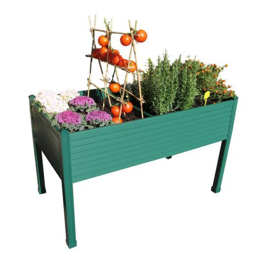 Table de culture en plastique couleur verte