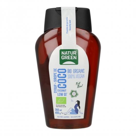 Sirope de Coco bio Naturgreen, 360 ml / 495 g