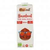 Bibida di nocciole senza zucchero, senza glutine e senza lattosio EcoMil 1 L