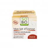 Crema di notte Nutritiva latte di asina SO'BIO étic 50 ml.