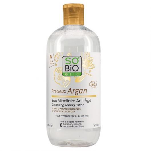 Agua Micelar Anti-edad  SO'BIO étic 500 ml.