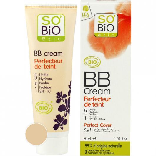 BB cream 01 perfecteur de teint SO'BIO étic 30 ml