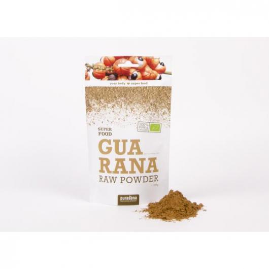 Guarana polvo Bio Purasana 100 gr