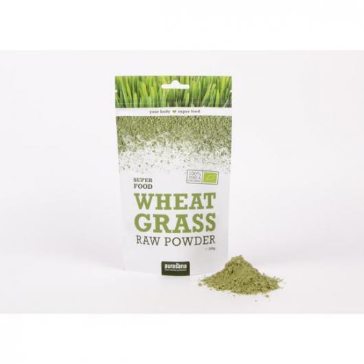 Hierba trigo polvo Bio Purasana 200 gr