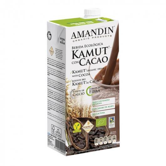 Bebida De Kamut, Cacao y Calcio Amandin 1L