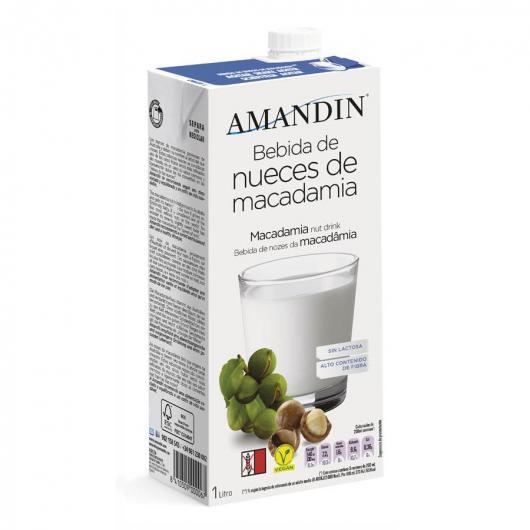 Bebida De Nueces De Macadamia Amandin 1L