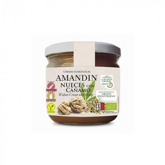 Crema de Nueces con Sirope Amandin  330 gr