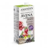 Bevanda di Avena con frutti rossi e Açai eco Amandín 1L