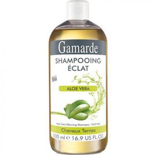 Champú Cabello Sin Brillo Aloe Vera Gamarde 500 ml