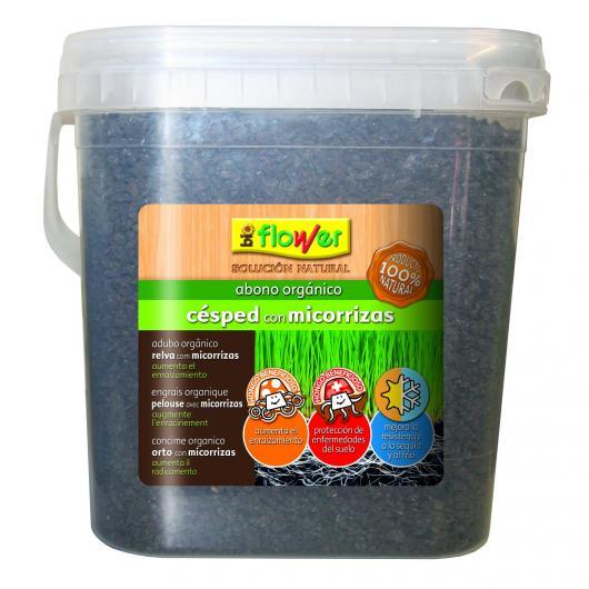 Abono orgánico para césped con micorrizas 1.5 kg.