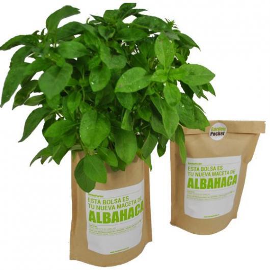 Kit huerto Albahaca Garden Pocket