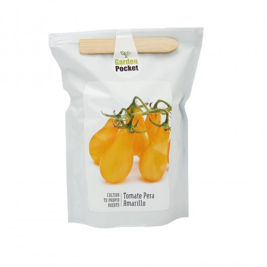 Kit huerto Tomate pera amarillo Garden Pocket
